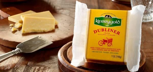 Dubliner Irish cheese