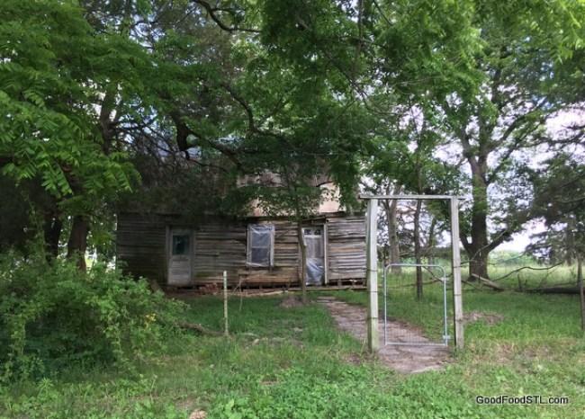 abandoned Ozark cabin