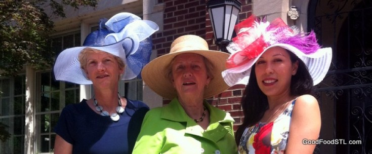 Hat luncheon for Forest Park Forever