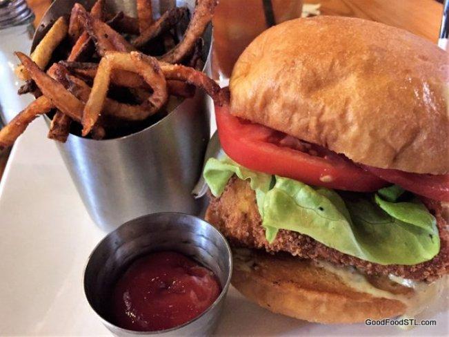 Polite Society Restaurant fish sandwich