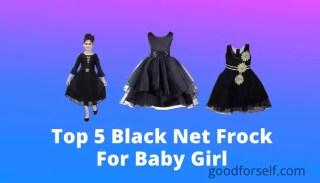 black net frock for baby girl