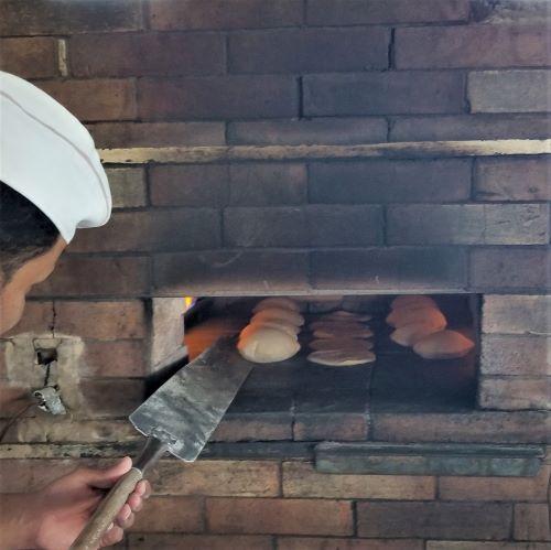 pita baked fresh