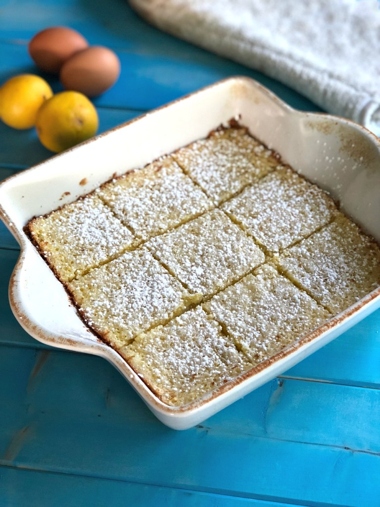 Gluten-Free Lemon Bars 1