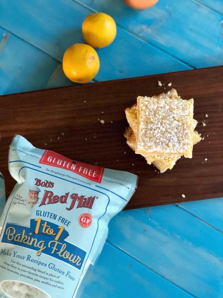 Gluten-Free Lemon Bars 4