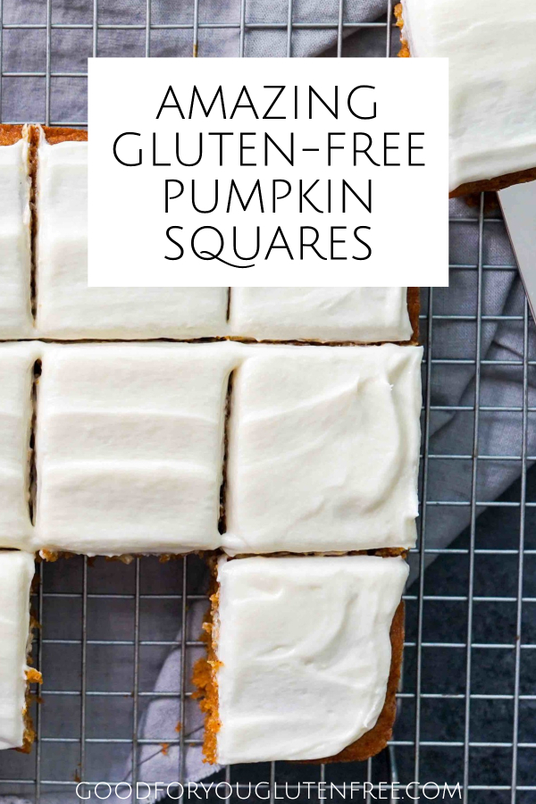 Delicious Gluten-Free Pumpkin Squares Recipe Pin image 3