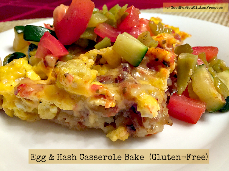 Meatless Monday: Gluten Free Egg and Hashbrown Casserole Bake