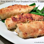 Gluten Free Almond Flour Crusted Tilapia Nuggets