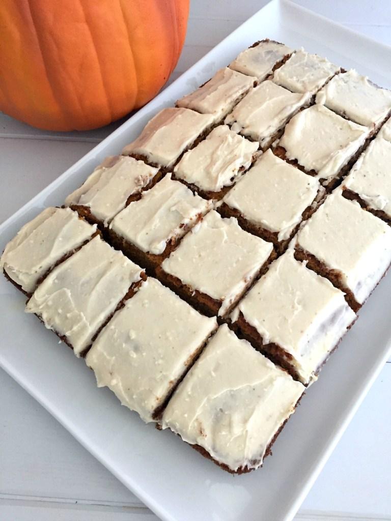 Gluten-Free Pumpkin Squares 1