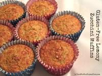 Gluten-Free Lemony Zucchini Muffins