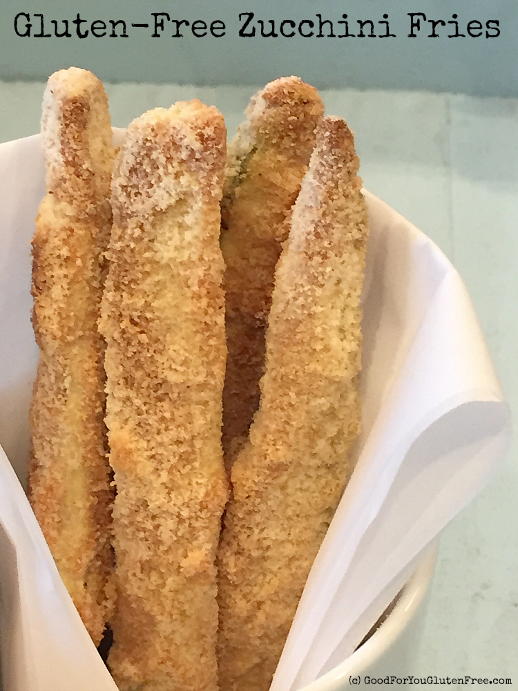 Gluten-Free Almond Flour Zucchini Fries and Almond Flour Giveaway