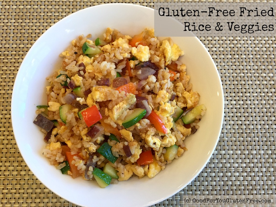 Easy Gluten-Free Fried Rice Recipe