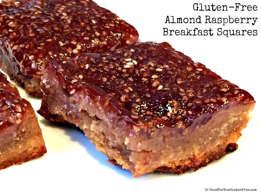Gluten Free Almond Raspberry Squares 2