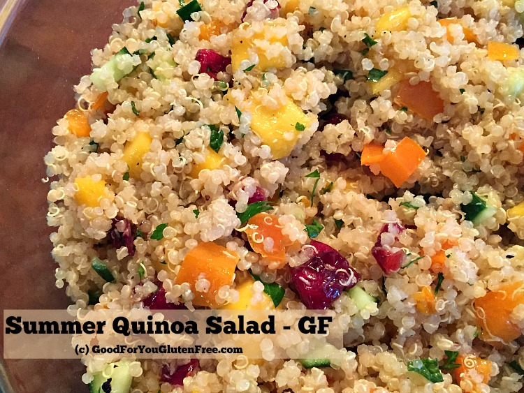 Summer Quinoa Salad Recipe