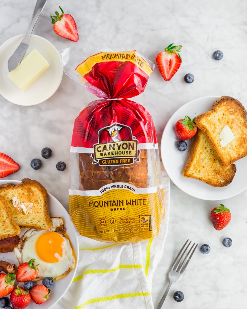Canyon Bakehouse gluten-free bread found at Costco