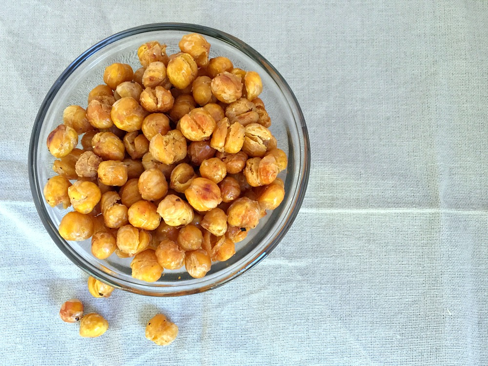 Gluten-Free Roasted Chickpea Snack