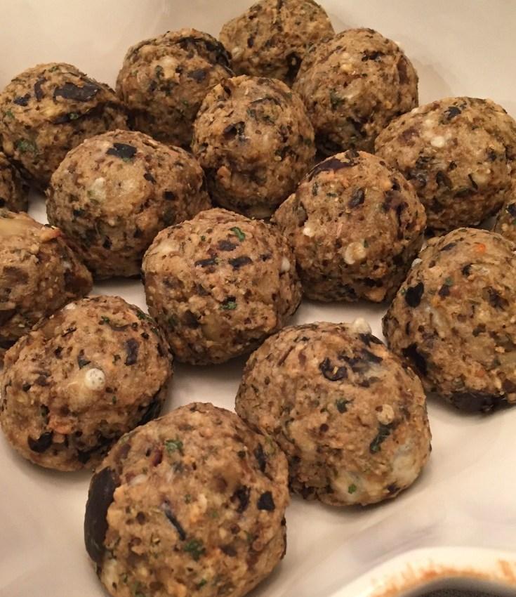 Eggplant Meatballs Recipe