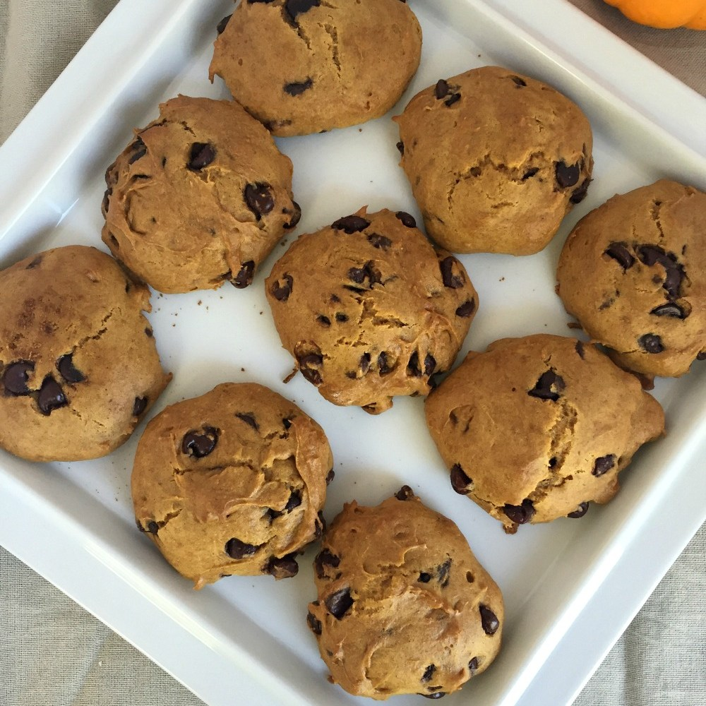 Gluten Free Pumpkin Cake Cookies – Yum!