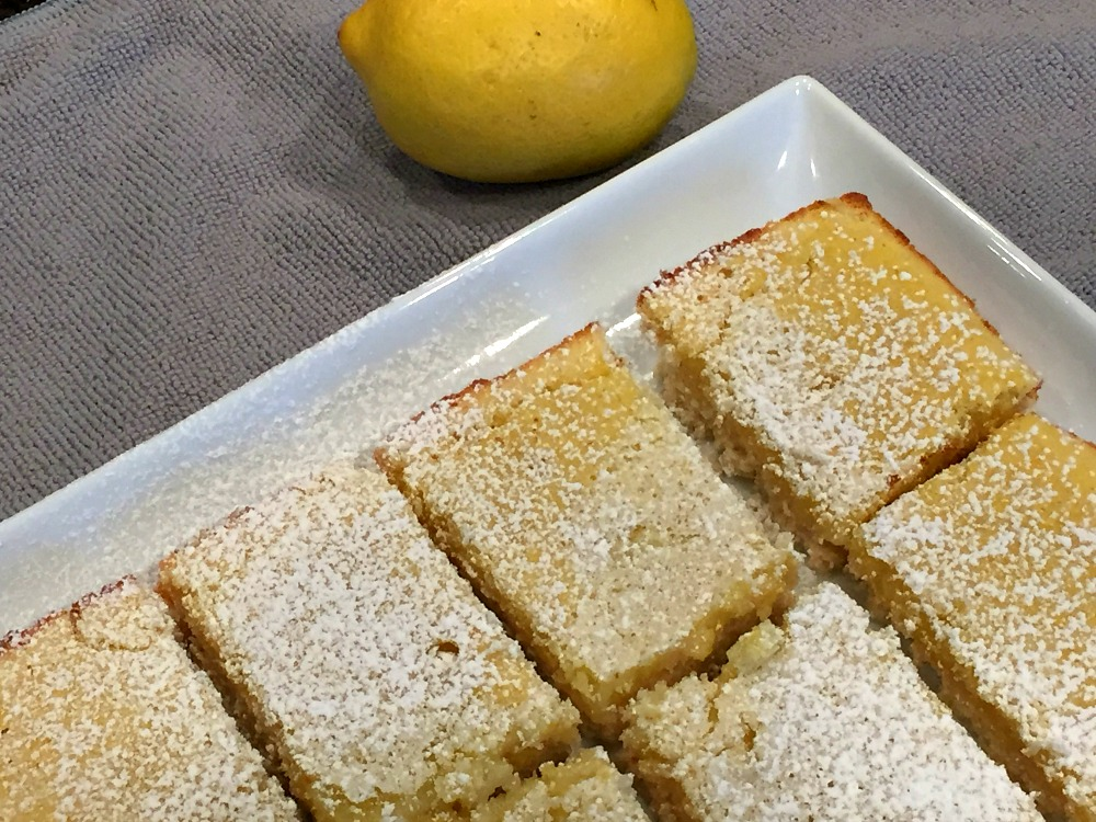 How to Make Yummy Gluten-Free Lemon Bars – Recipe