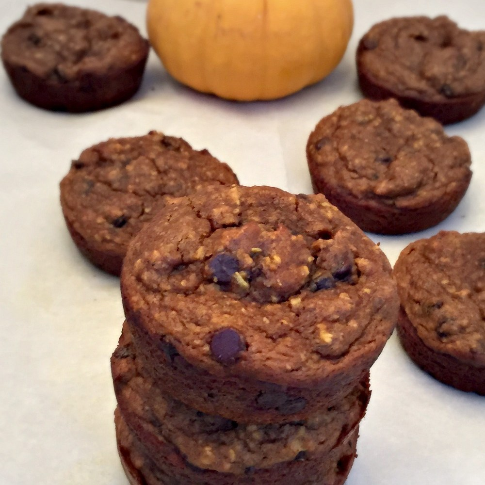 """Feels Like Fall"" Gluten Free Pumpkin & Oat Muffins Recipe"