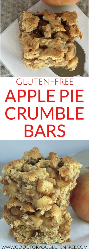 Gluten-Free Apple Pie Crumble Bars - Good For You Gluten Free