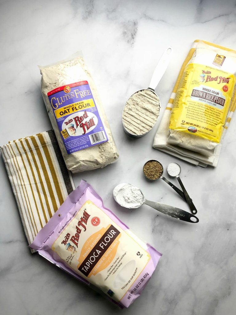 Gluten-Free Challah Ingredients