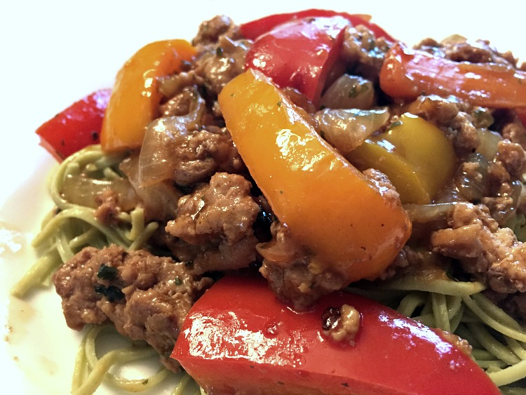 Ground Turkey stir fry