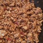 Turkey Taco Meat recipe header