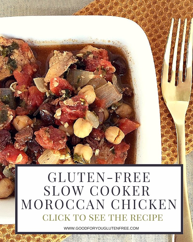 Hearty Slow Cooker Moroccan Chicken
