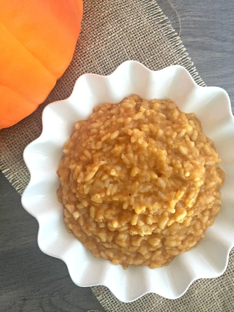 Gluten-Free Pumpkin Risotto 2