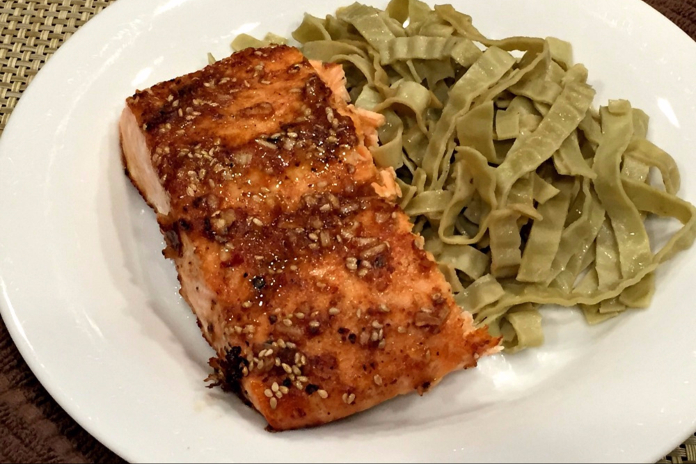 Gluten-Free Asian Salmon header