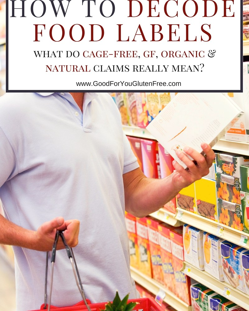 What You Don't Know May Hurt You: How to Decode Food Label Claims