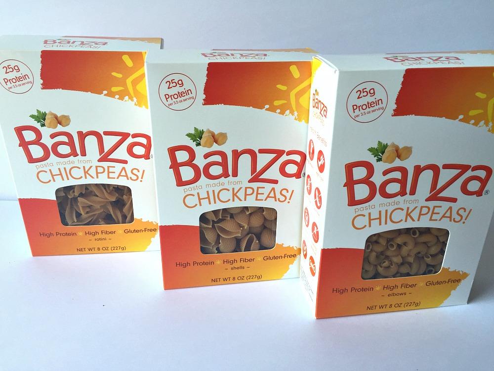 Banza gluten-free chickpea pasta 2