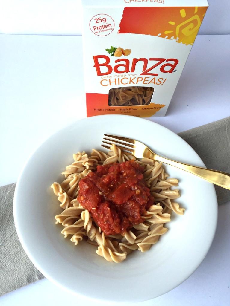 Banza gluten-free chickpea pasta 3