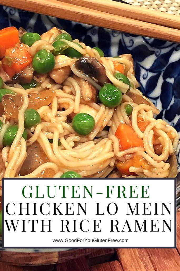 Gluten-Free Chicken Lo Mein Noodles - Recipe by Good For You Gluten Free