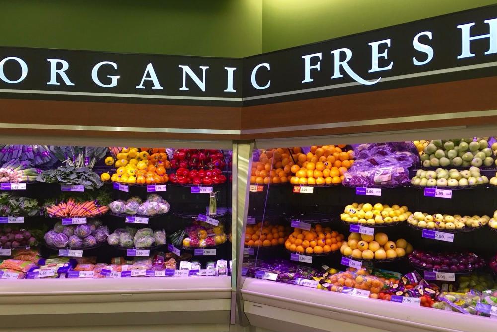 Organic Fresh Grocery Shopping