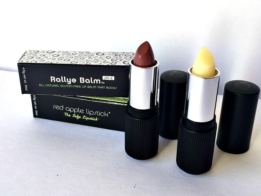 Rallye Gluten Free Lip Balm and Lipstick 1