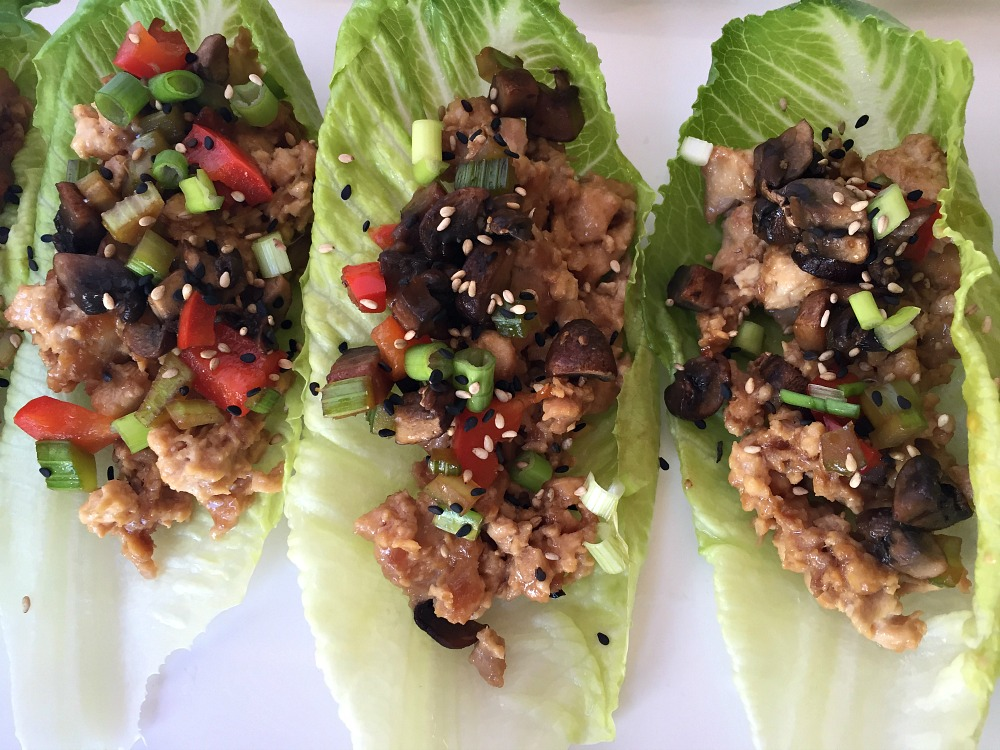 GF Chicken Lettuce Wraps 1