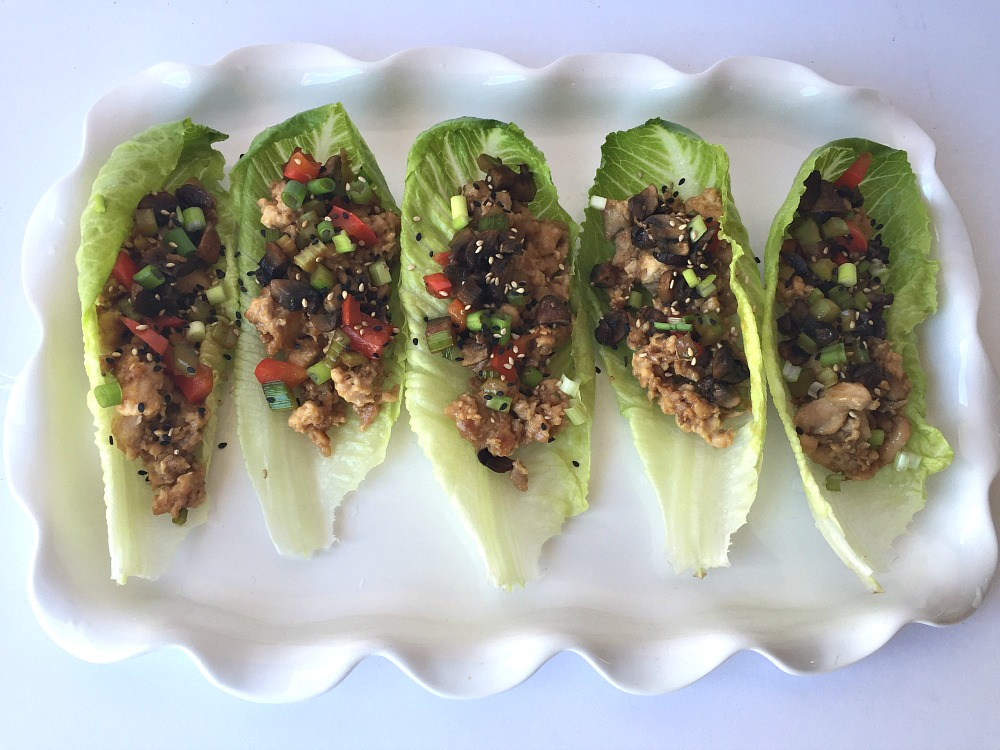 Chicken Lettuce Wraps 2