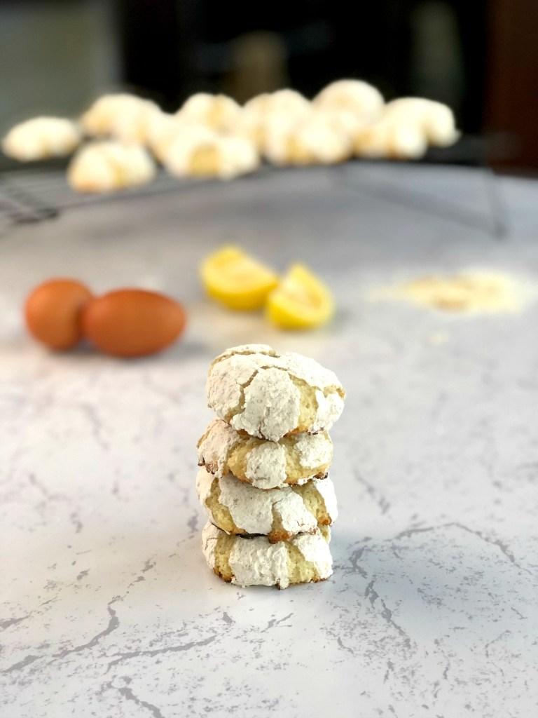 Gluten-Free Lemon Crinkle Cookies 3a