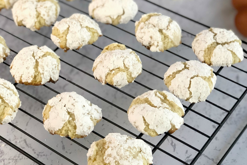 Gluten-Free Lemon Crinkle Cookies that Taste Like Candy