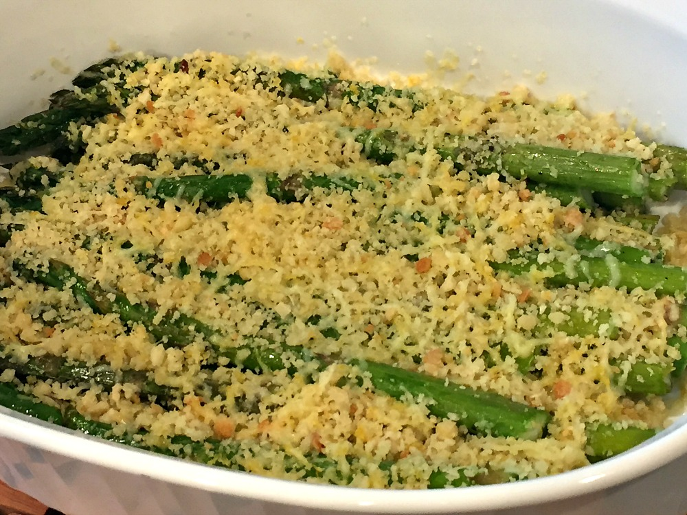 Parmesan Breaded Roasted Asparagus 2