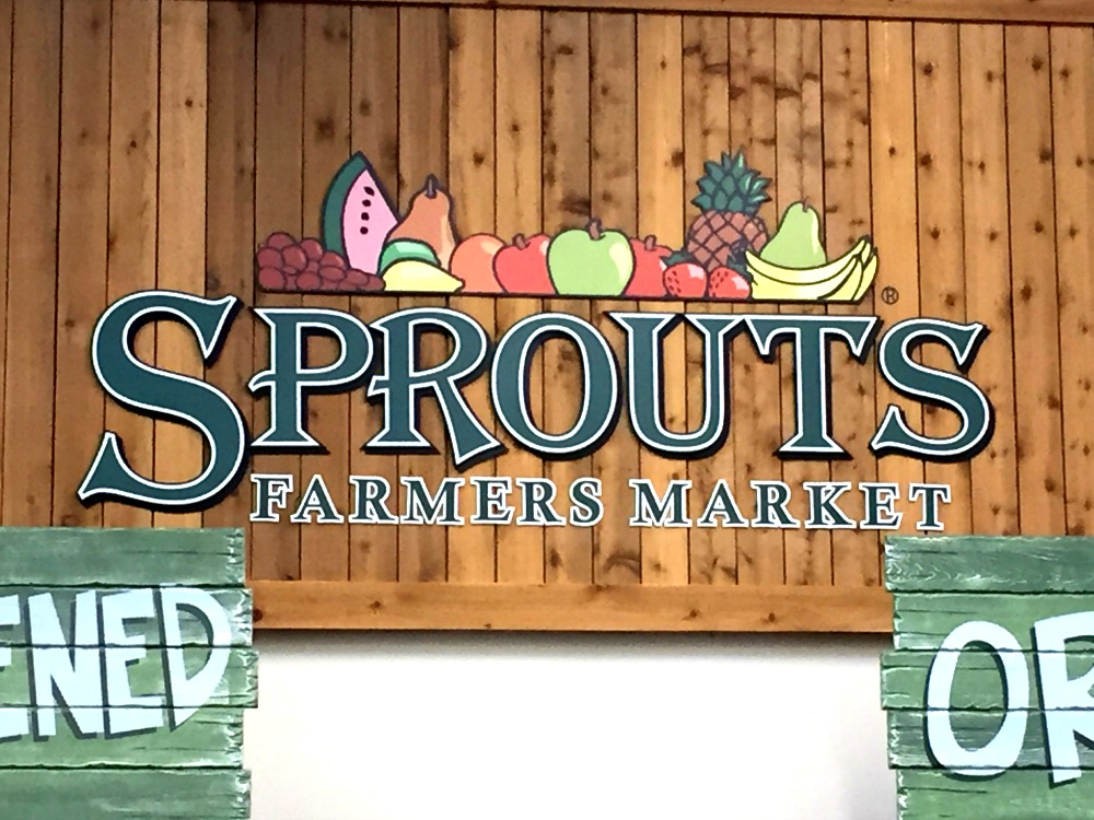 Sprouts sign
