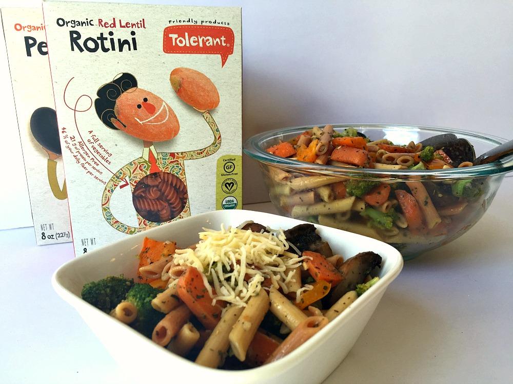 Gluten-Free Italian Pasta Salad with Tolerant Pasta
