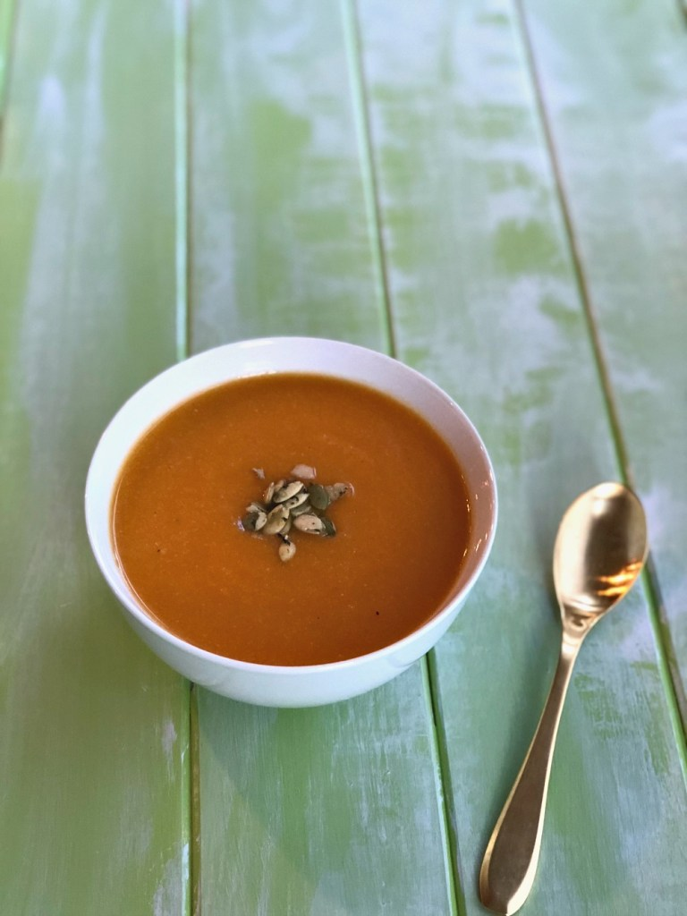 Carrot and Cauliflower Soup Recipe 1a