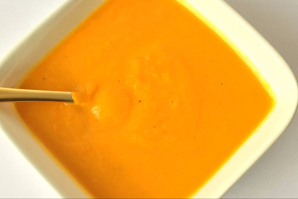Carrot and Cauliflower Summer Soup Recipe