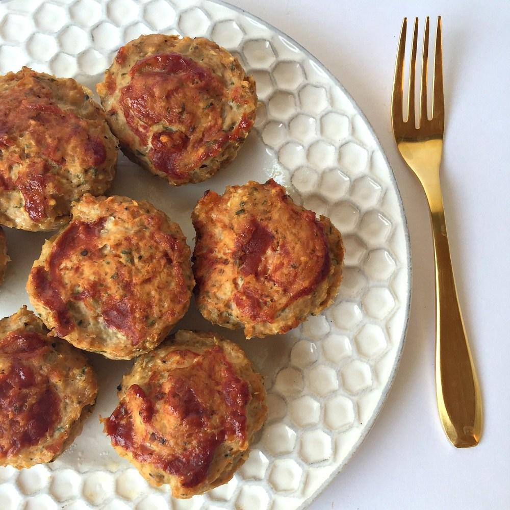 Gluten-Free Mini Turkey Meatloaves Recipe