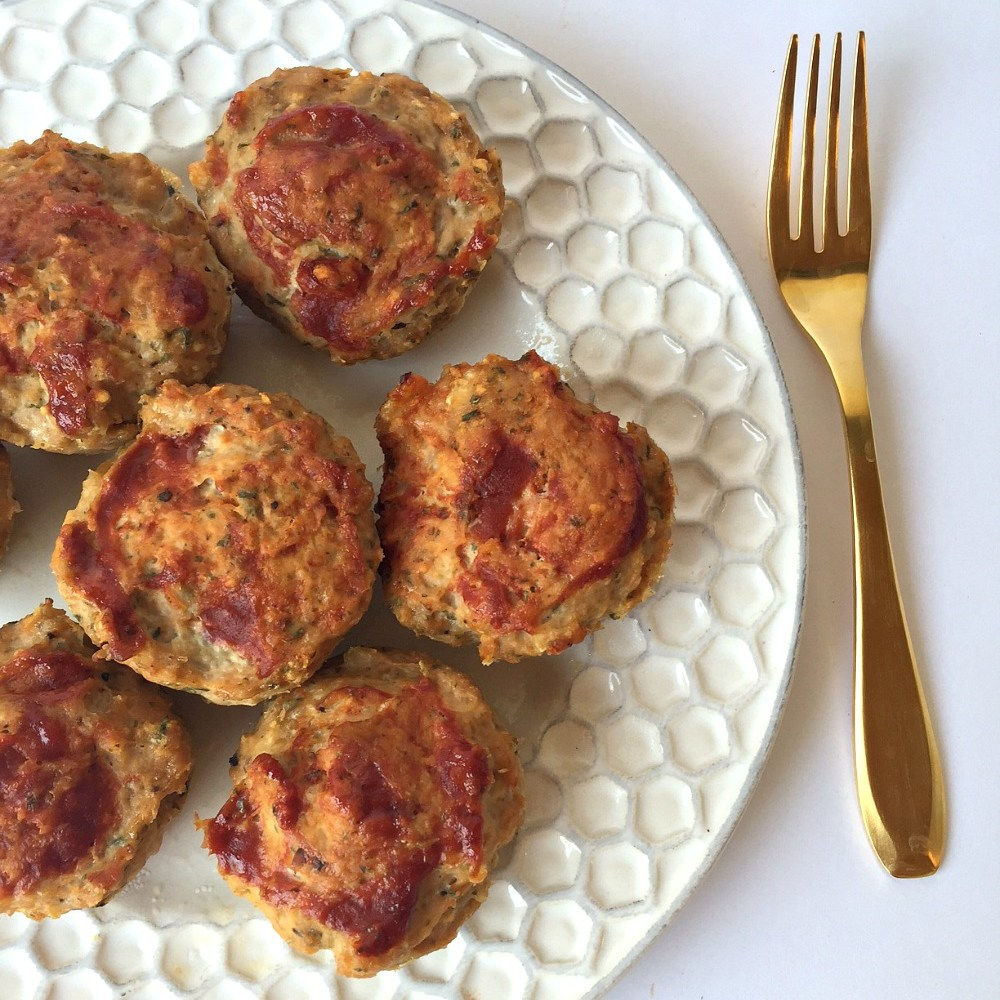 Gluten-Free Mini Turkey Meatloaves Recipe