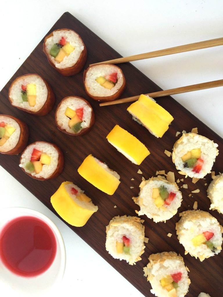 Fruit Sushi Beauty Shot 2