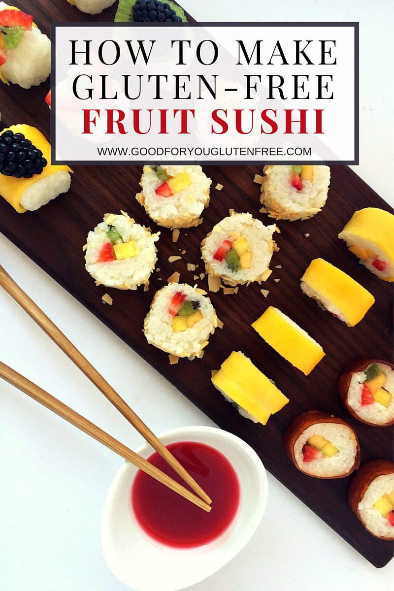 How To Make Glutenfree Sushi Graphic