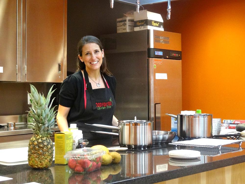 Jenny Finke Cooking Demo at Natural Grocers Denver